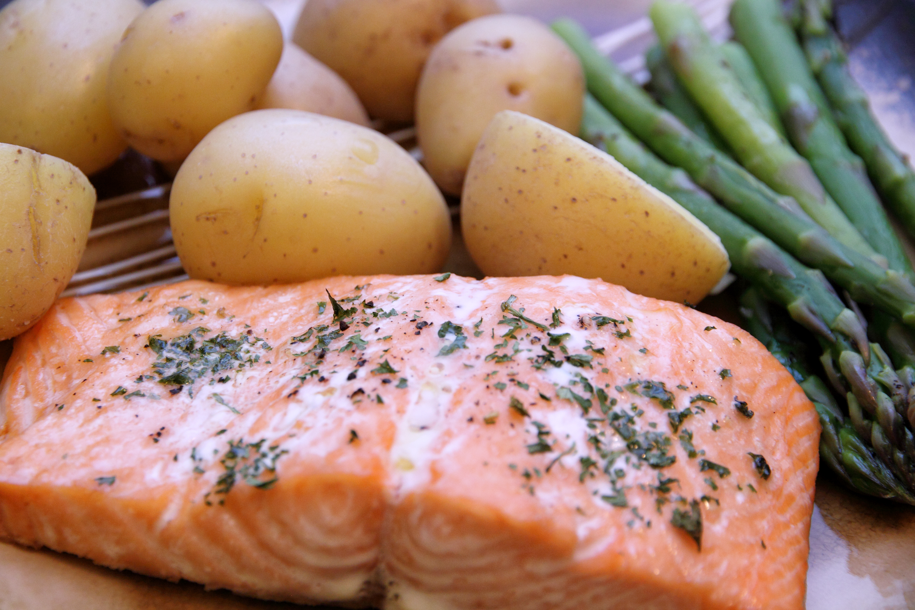 How to bake salmon in the oven per the pound livestrong ccuart Gallery