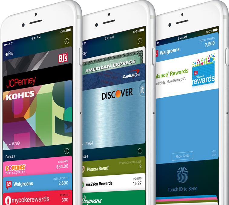Wallet on iOS 9