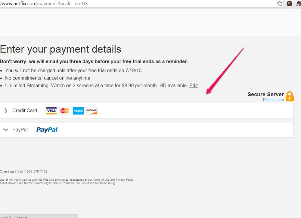 Enter Your Payment Details