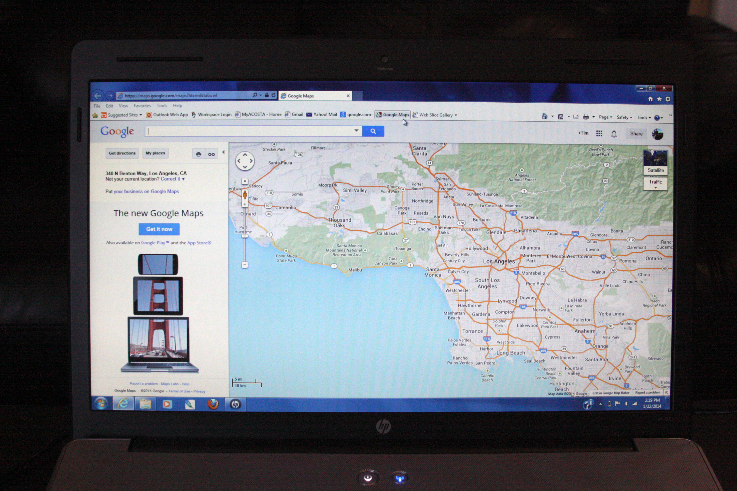 How To Load Google Maps To Garmin It Still Works - Los angeles navigation map