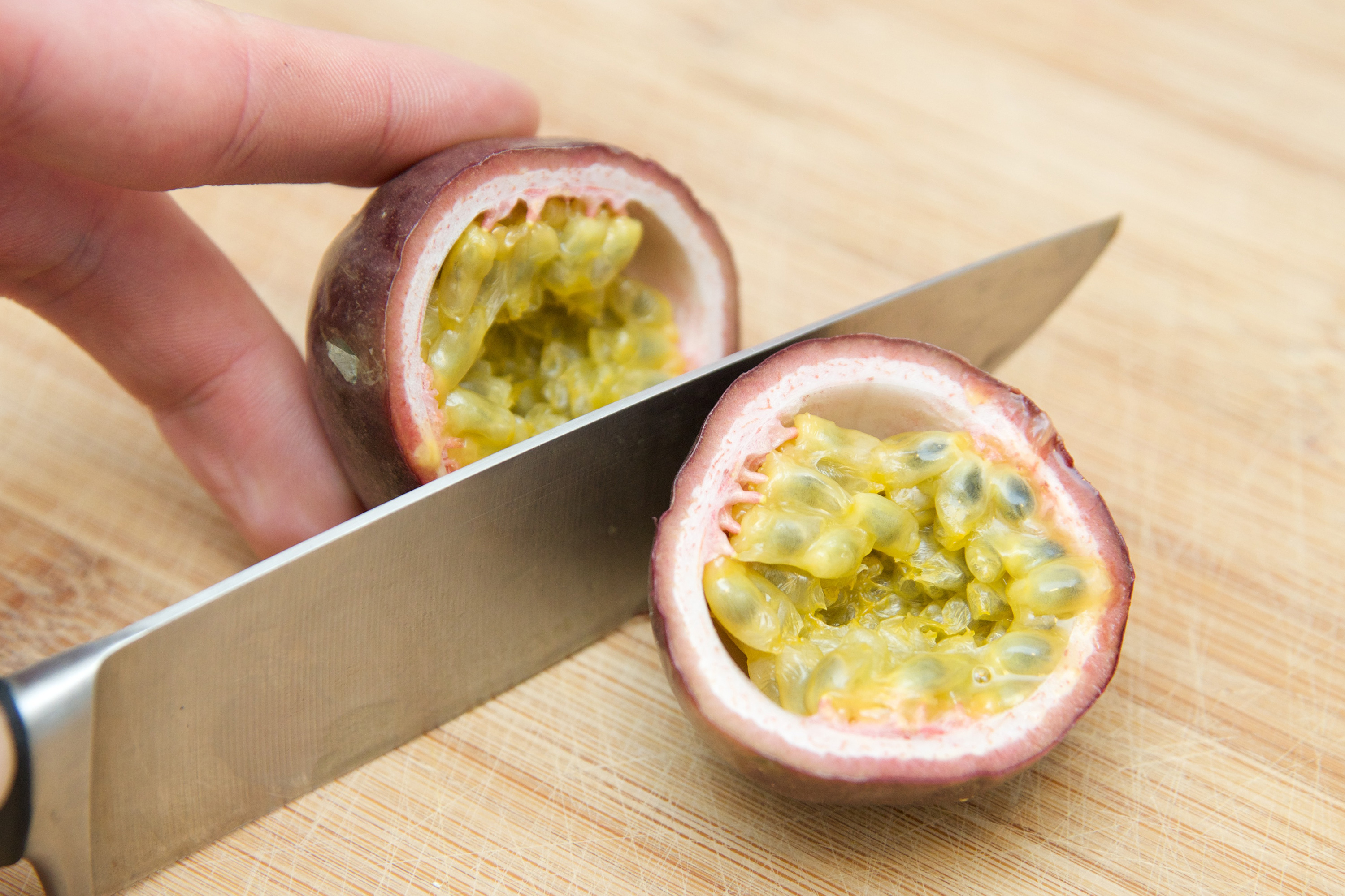 fruit tacos how to eat passion fruit