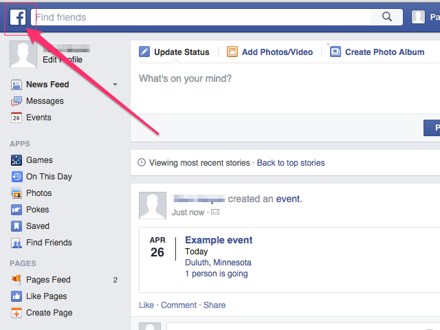bHow to Delete Events on Facebook