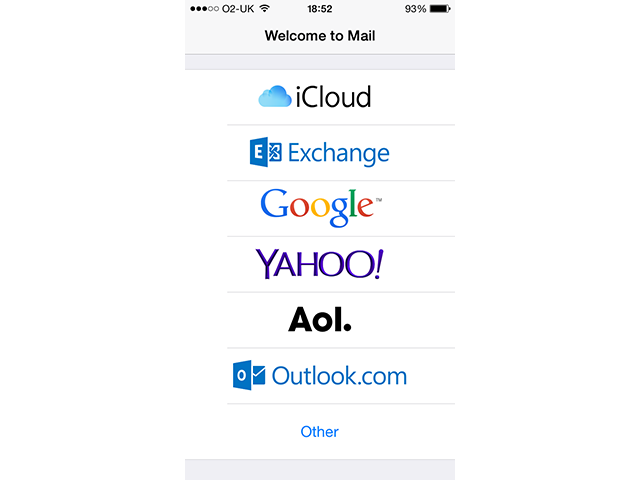 how to add school outlook email to iphone