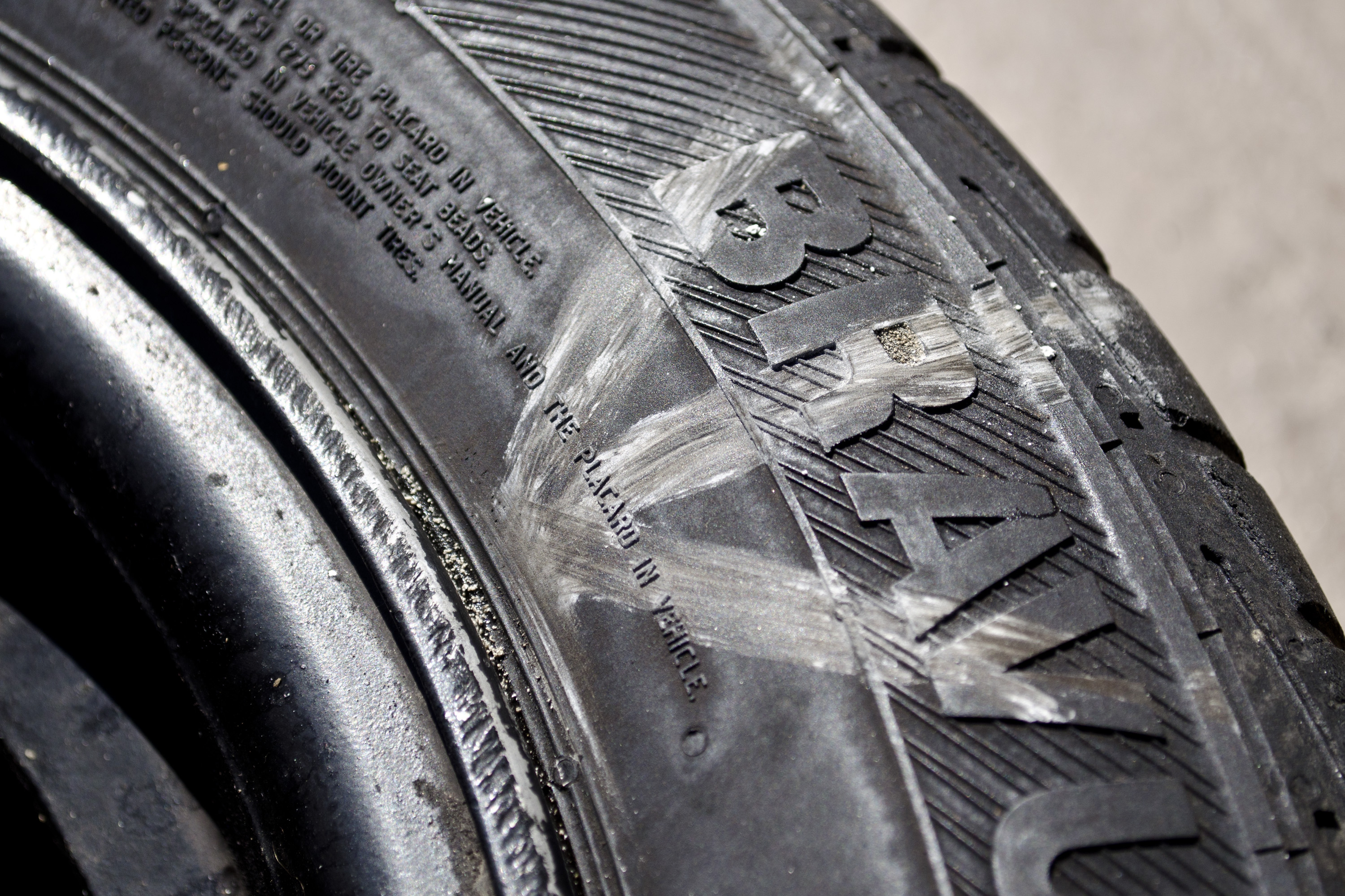 How to Fix a Tire That Is Leaking Air at the Rim   It Still Runs