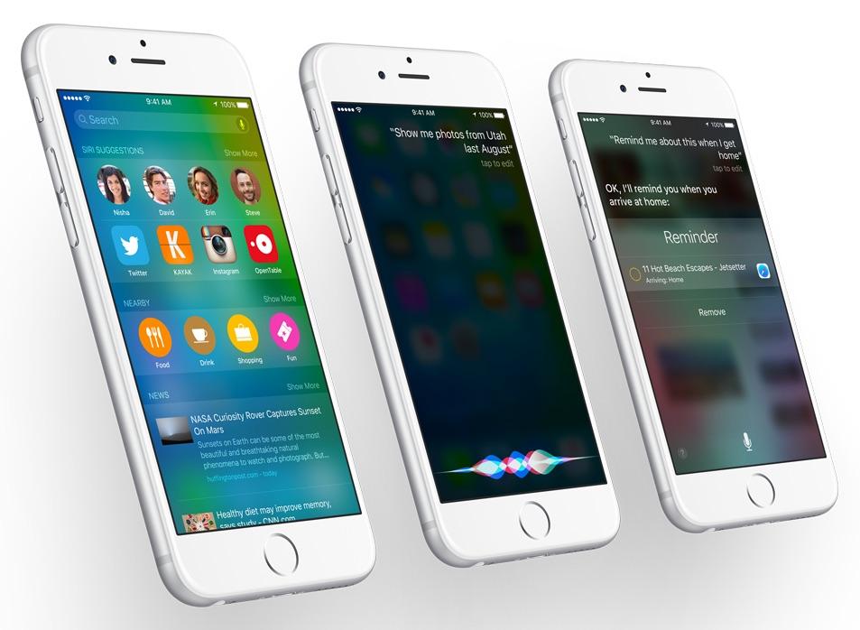 Siri on iOS 9