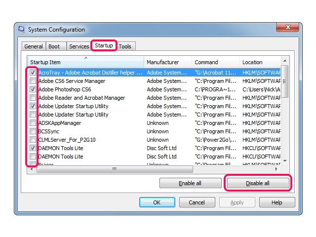 how to start a program automatically when windows 7 starts