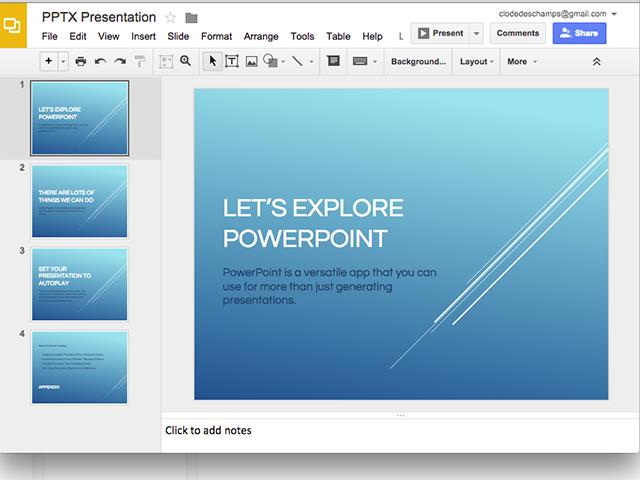 A PPTX file in Google Slides.