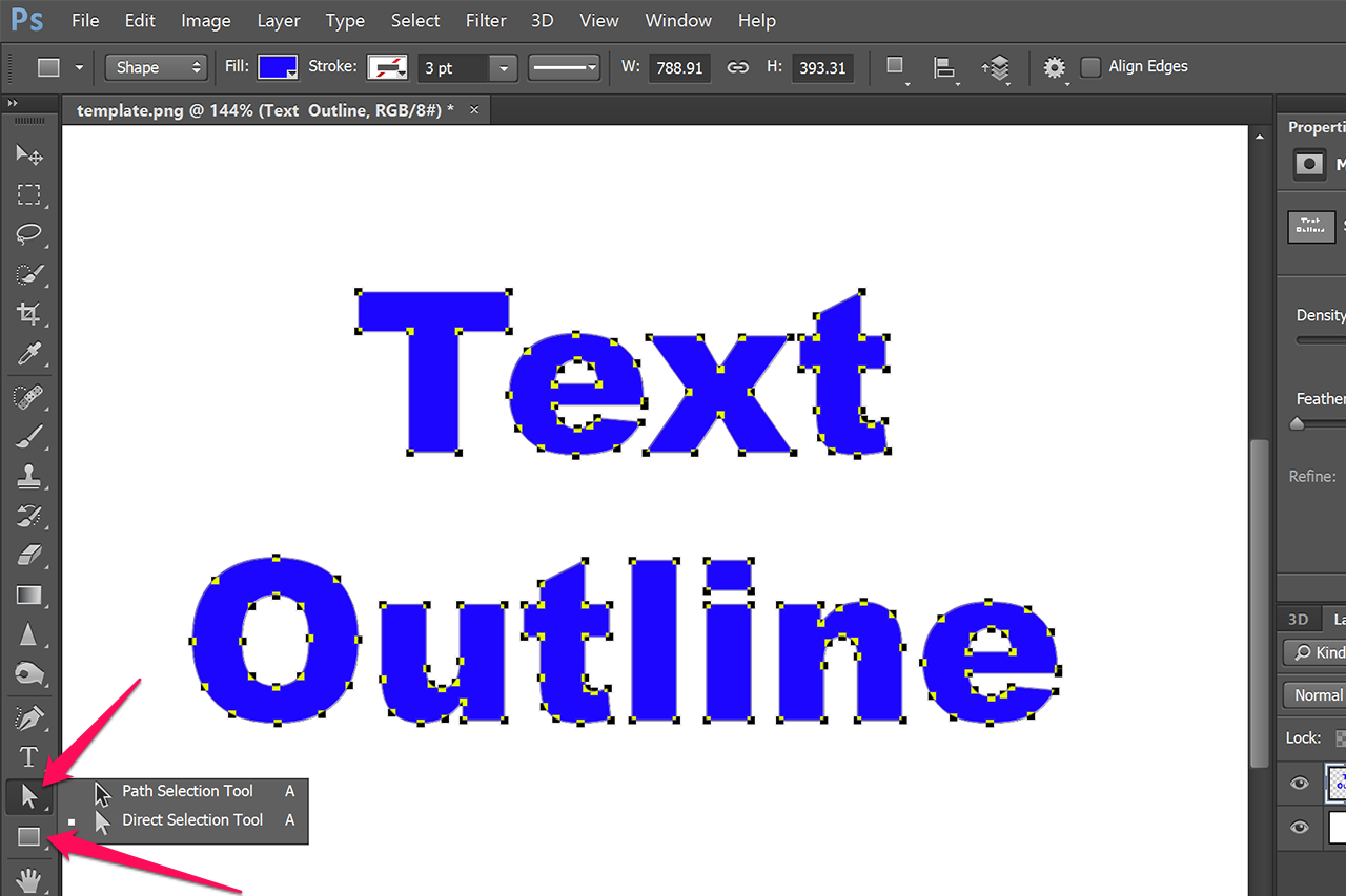 Faking Text Wrap In Photoshop - Photoshop