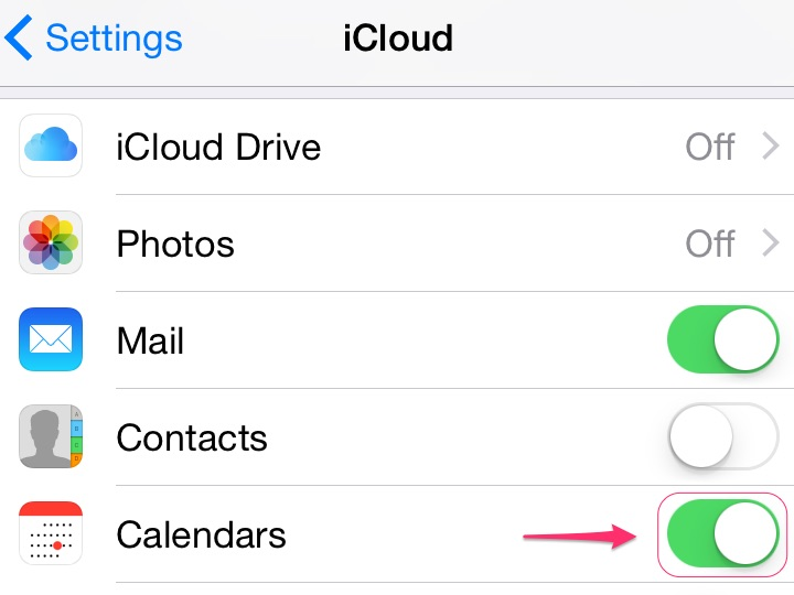 bHow to Share iPhone Calendars