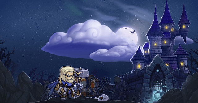 Dungelot: Shattered Lands uses brain and brawn.
