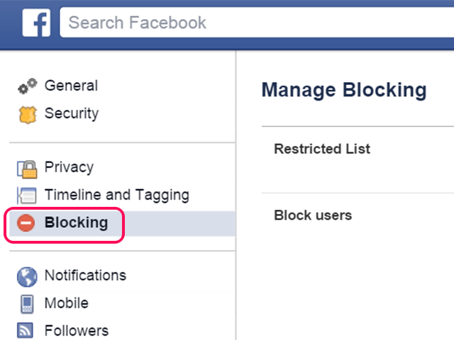 Click Blocking.