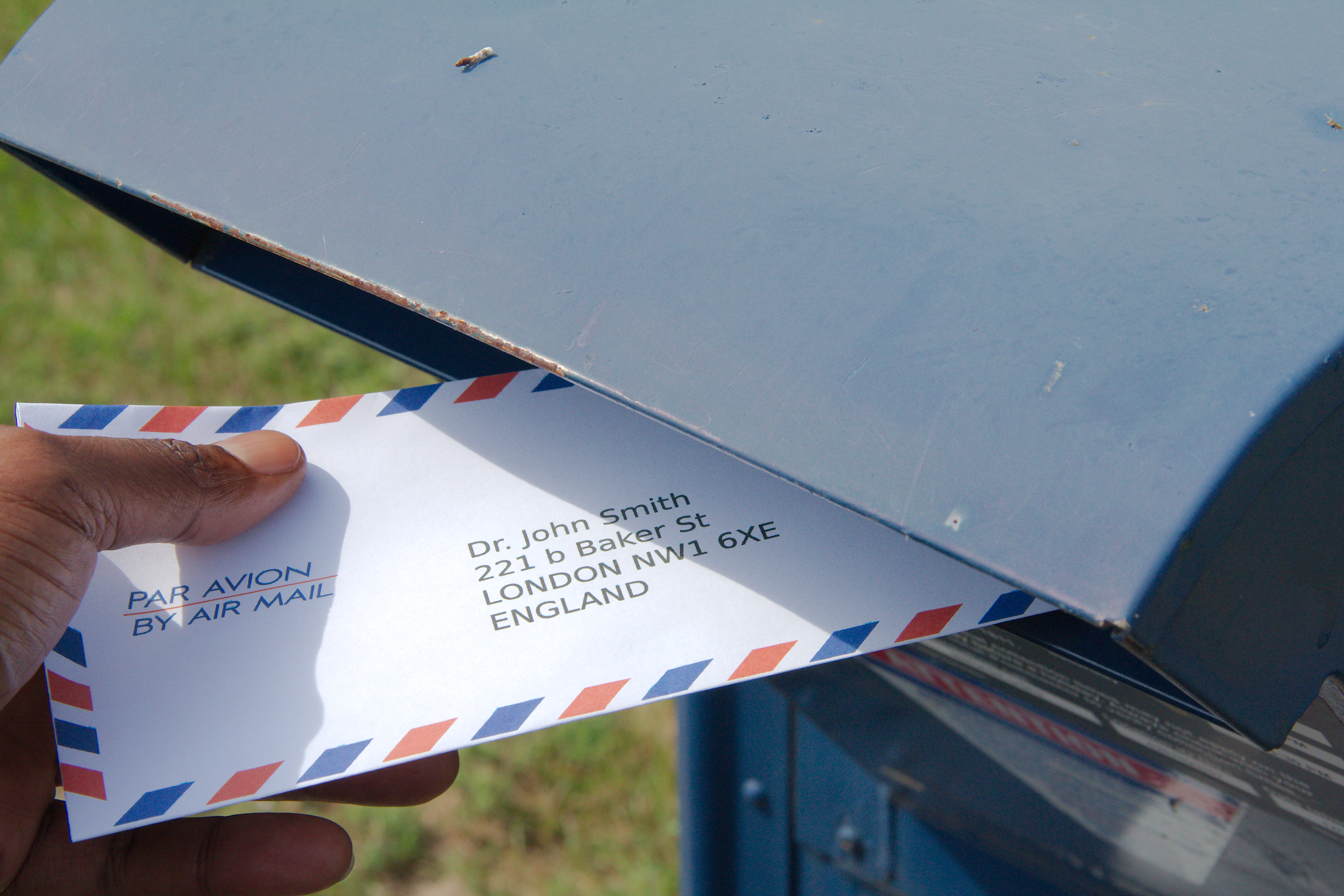 take your letter to the post office to have it weighed and stamped to ensure that your letter reaches its destination in a timely manner its critical to