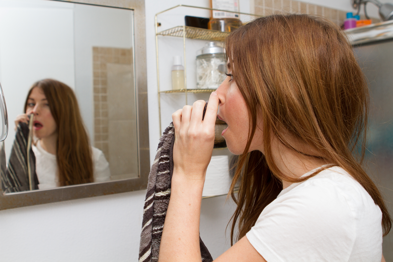 how to get rid of ingrown nose hair