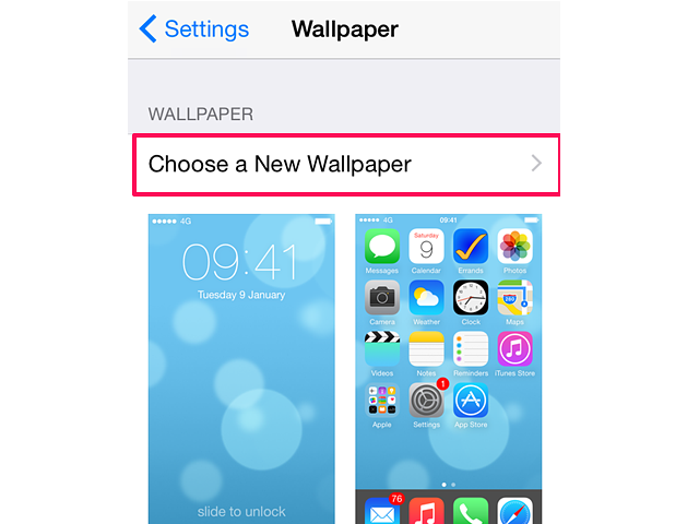 How to add screensavers to an iPhone