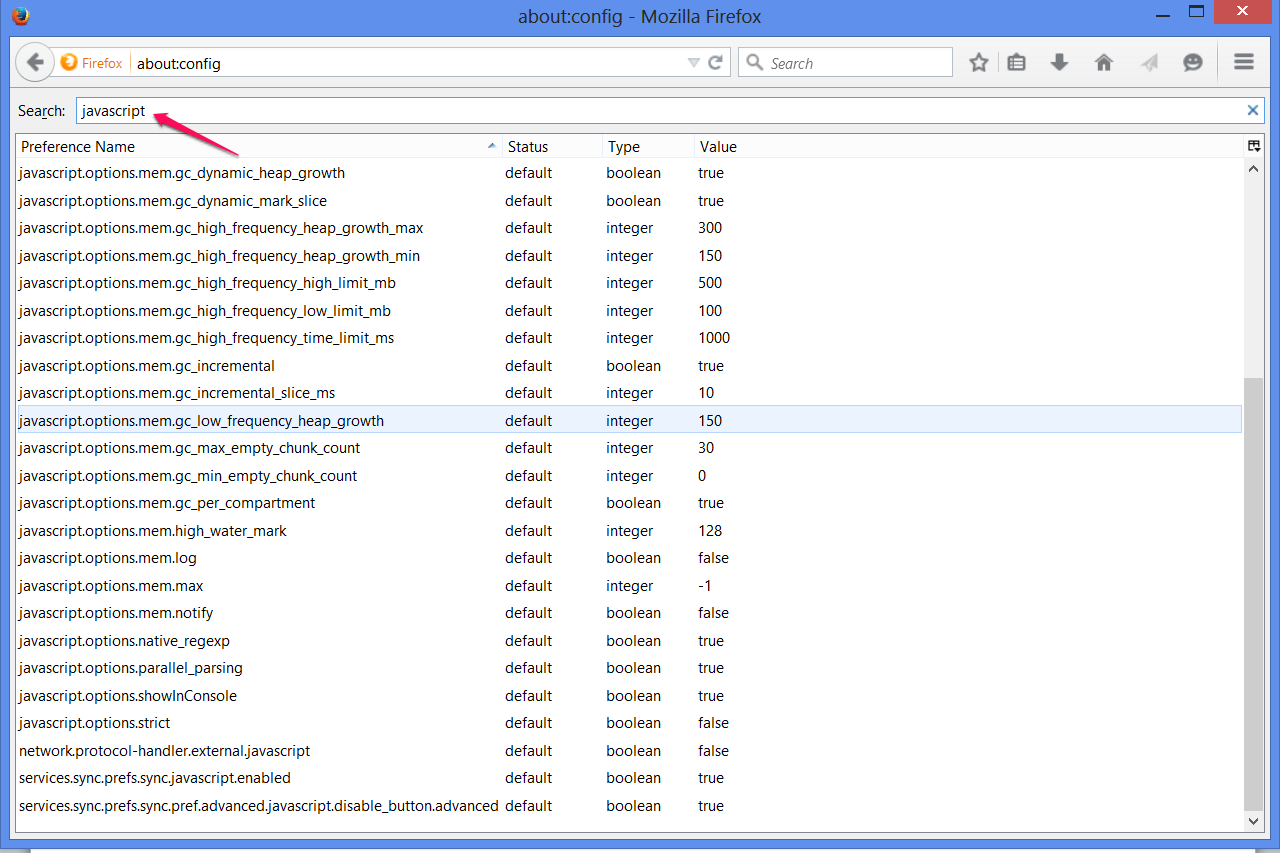 bHow to Enable JavaScript in Firefox