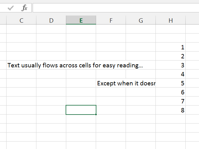 how to put text in multiple cells in excel