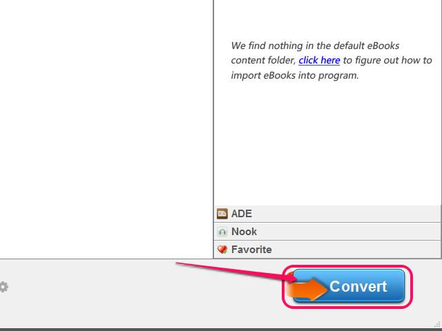 Click Convert.