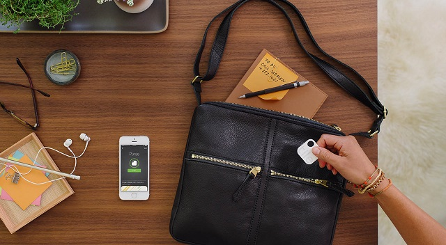 You can slip Tile into your purse or attach it to your keys.