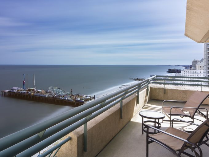 Showboat, Atlantic City, Hotel, Rooms, Beach, Ocean, Boardwalk, Balcony, Views