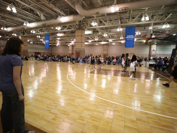 Atlantic City, Atlantic City Convention Center, event, tournament, showcase, basketball, girls, youth, NCAA, Adidas, team, coach, student athletes