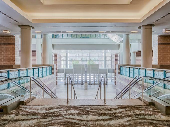 Atlantic City, Convention Center, meetings, trade shows, conferences, conventions, expos, interior, escalator