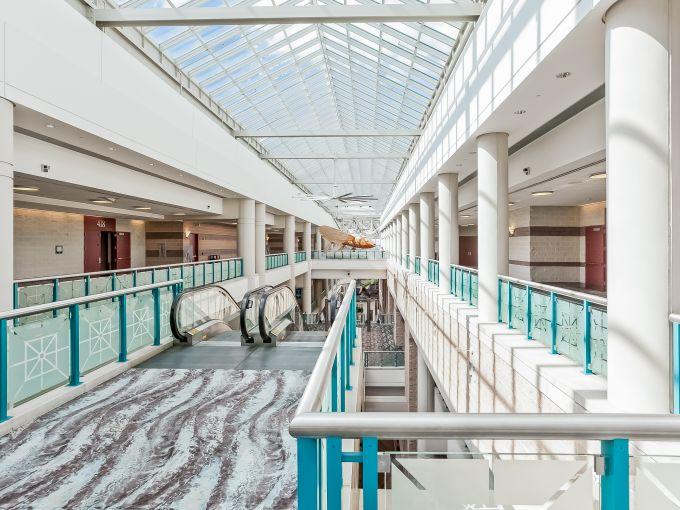 Atlantic City, Convention Center, meetings, trade shows, conferences, conventions, expos, interior, escalator, design