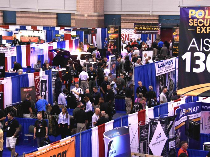 Convention Center, Atlantic City, Expo, Show, Police, Security, Exhibitors, Vendors, Aisles, Products, Professionals, Uniforms, Transport Vehicles, Forcible Entry Tools, Weapons, Crime Scene Investigation Aids, Wireless Services, Digital Cameras, Warning Lights, Surveillance Products, Bullet Proof Vests, Computers, Demonstrations