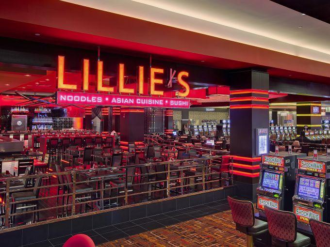 Golden Nugget, Casino, Interior, Marina District, Atlantic City, Restaurant, Food, Asian, Lillie's