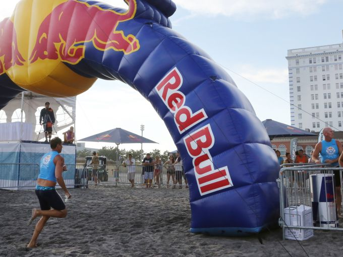 Red Bull, Surf, Rescue, Beach, Boardwalk, Competition, Ocean, Life Guards, Swimmers, Surf Board, Paddle