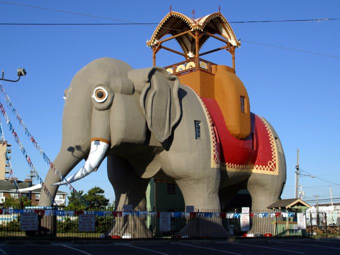 Atlantic City, attraction, elephant, Lucy the Elephant