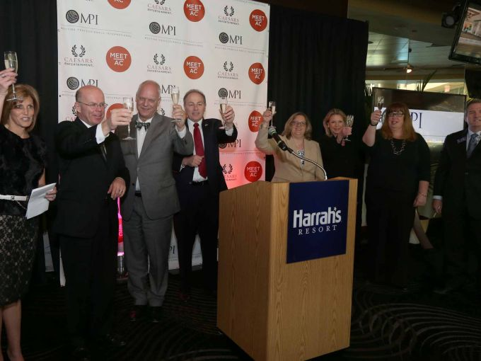 Atlantic City, Press Conference, Audience, Speakers, Meetings, Professionals, MPI, Champagne Toast