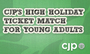 Young Adult High Holiday Ticket Match
