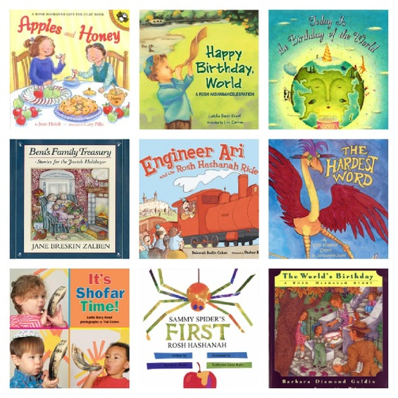 Rosh Hashanah and Yom Kippur Books for Children
