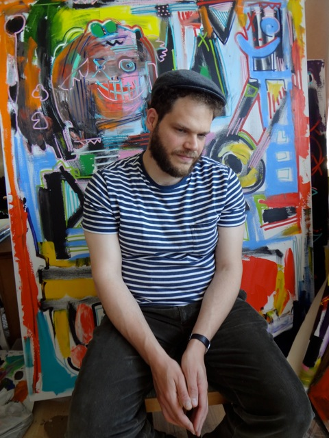 Four Questions with Noah Lubin, Painter