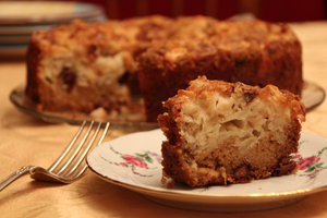 Gale Levine's Apple Chocolate Chip Cake