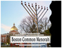Public Menorah Lighting on the Boston Common