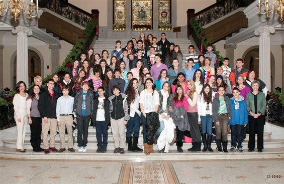  Haifa and Boston Teens from Rashi and Leo Baeck at the State House with Rep. Ruth Balser: How Jewish values drive public policy decisions             