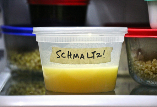 Chosen Eats: Save Your Schmaltz!