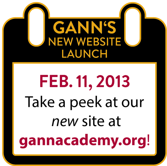 Gann Academy's NEW Website!