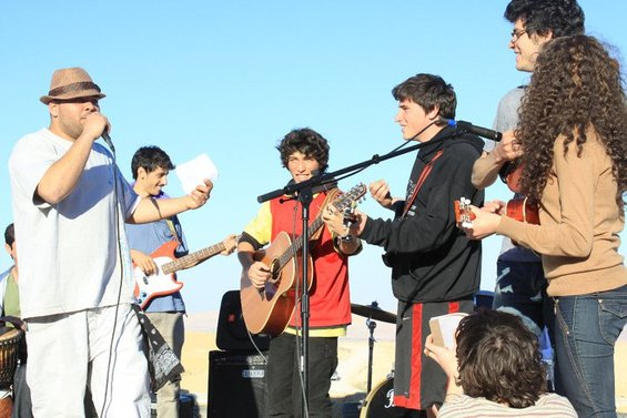 Heartbeat: An Israeli-Palestinian Youth Music Tour