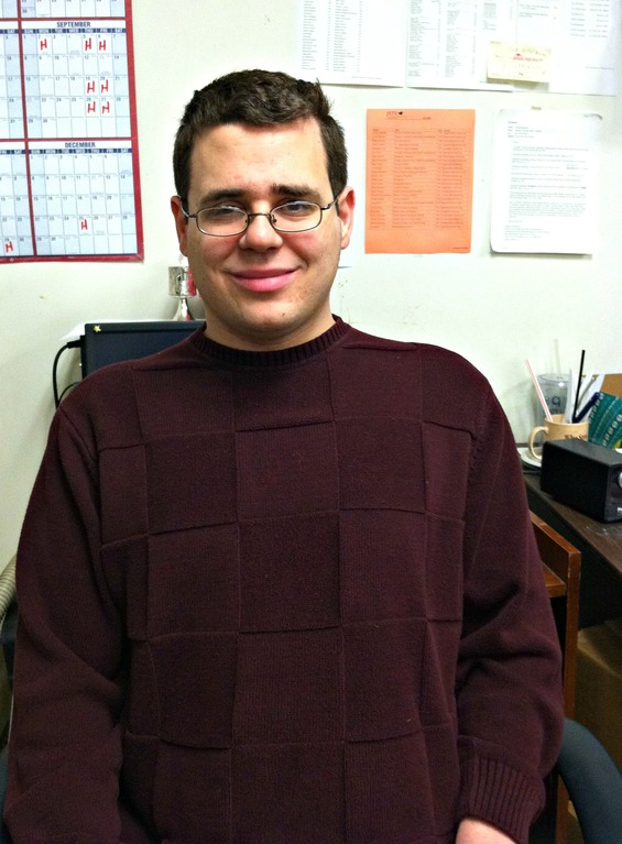 Four Questions with Eric Niemi, Transitions to Work Graduate