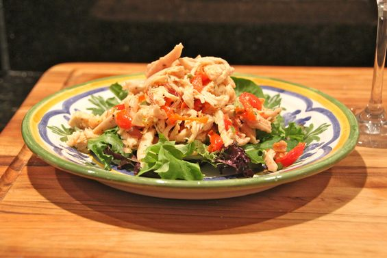 Chosen Eats: Eating Passover, Day 10 - Chicken Salad, Hold the Mayo