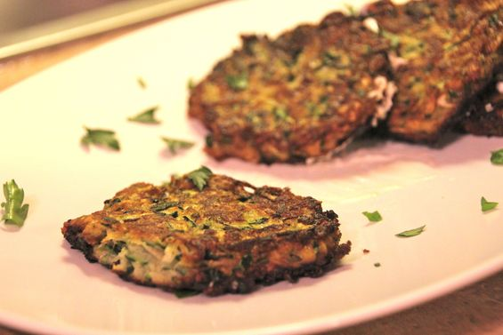 Chosen Eats: Eating Passover, Day 11 - Zucchini Latkes