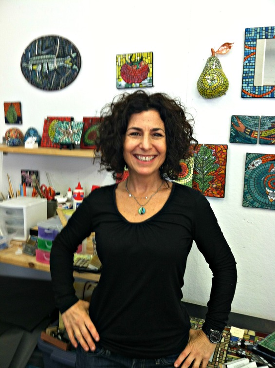 Four Questions with Caren Zane Fishman, Mosaics Artist