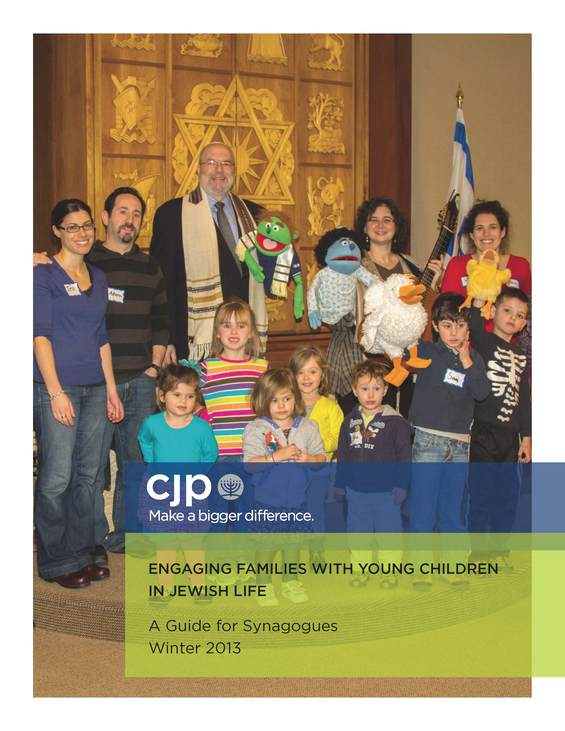 Engaging Families with Young Children in Jewish Life: A Guide for Synagogues