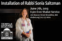 Installation of Rabbi Sonia Saltzman