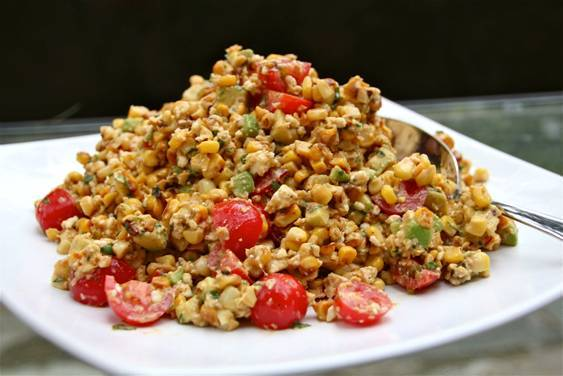 Chosen Eats: Rain-or-Shine Mexican Corn Salad