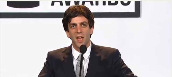 BJ Novack at The Webby Awards