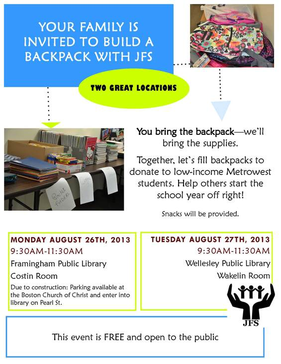 Build A Backpack 2013!