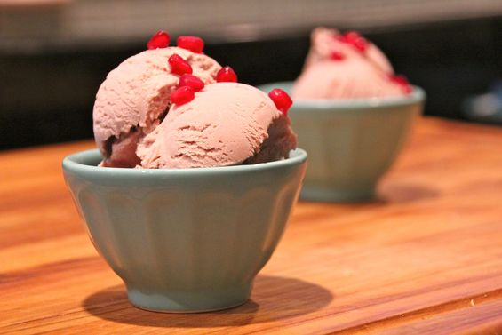 Chosen Eats: Rosh Hashanah Recipe - Pomegranate Ice Cream